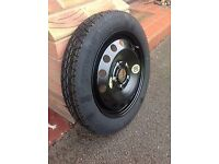BMW space saver spare wheel