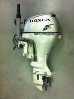 9.9 Honda 4 stroke outboard motor.