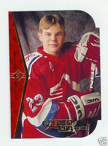SERGEI SAMSONOV - DIE CUT  ROOKIE CARD (1994-95 SP hockey cards) City of Halifax Halifax image 1