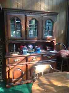 Solid wood hutch for sale