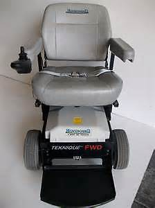 Hoveround Teknique FWD power chair