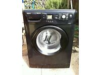65 Beko WME8227B 8kg 1200 Spin Black LCD A+A Rated Washing Machine 1 YEAR GUARANTEE FREE DEL N FIT