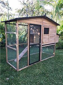 Chicken Coop Cat Enclosure Rabbit hutch pet house cage Large Some