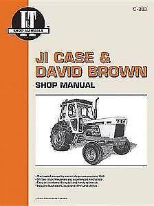 David Brown Case Shop Manual Series 770 870 970******1175 1200