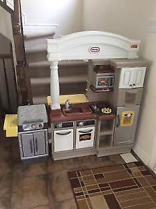 Little Tikes Play Kitchen with BBQ