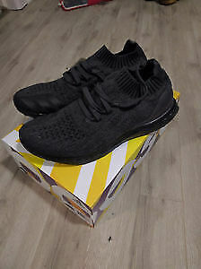 Ultra Boost Uncaged Triple Black SIZE 10