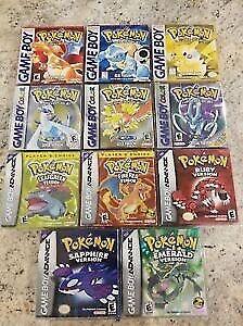I Legititmately Mail Pokemon Games, DS, N64, Gameboy