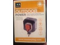 Master Plug Outdoor Socket 13amp
