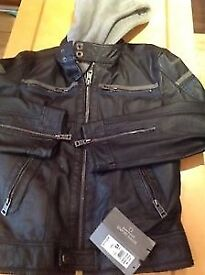 Brand new leather jacket from River Island with price tag