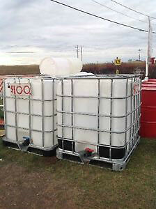 TOTES  (PLASTIC) 1000 LITRE FOR SALE