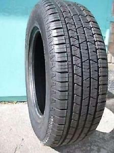 225/60R17	Continental Pro Contact Set of 2 Used allseason tires 75%tread left Free Installation and Balance