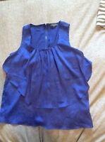 Silk dress top