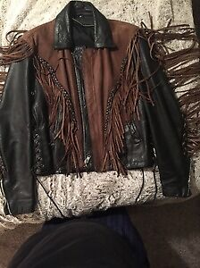 Womens Leather Ridding Jacket