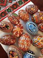Ukranian Easter Egg decorating