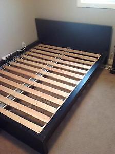 Ikea queen malm bed
