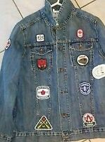 Men's  2012 TEAM CANADA Olympics Closing Ceremony Jean Jacket Wa
