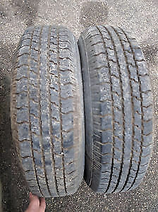 185 75 r14 TWO INNOVATION ALL SEASON TIRES GREAT SHAPE $60