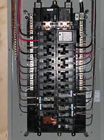 Master electrician 100 amp service upgrade $48/hour