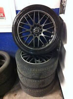 selling my rims and runflat tires for 900 obo