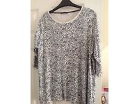 A selection of ladies top size 20