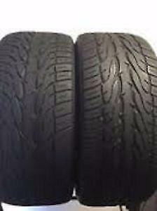 245/70R17Toyo Open Country Set of 2 Used allseason tires 70%tread left Free Installation and Balance