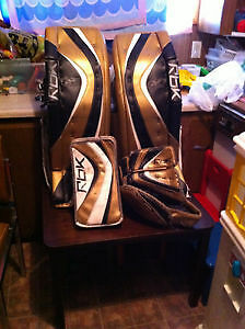 New Price Reebok Premier Series II Pro Goalie Pads 36 +2