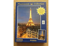 1000 PIECE JIGSAW PUZZLE - THE EIFFEL TOWER PARIS