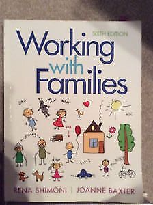 Working with Families 6th Edition Cambridge Kitchener Area image 1