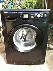 Beko WME8227B 8kg 1200 Spin Black LCD A+A Rated Washing Machine 1 YEAR GUARANTEE FREE FITTING