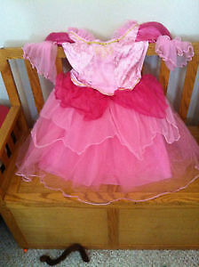 Girl Pink Princess Dress Halloween Costume Cinderella size 4-6x
