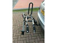 Thule tilting bike rack