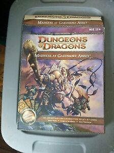Dungeons and Dragons Adventure Box