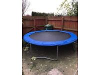 10ft trampoline Good used condition Dismantled ready for collection Ideal Christmas present, Telford