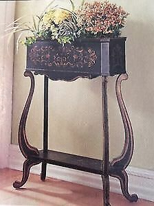 Bombay Harford Planter Plant Stand Like New!