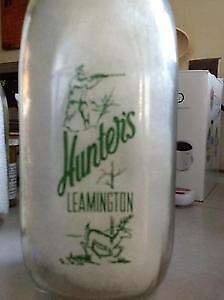 Hunter Dairy Quart Bottle