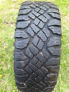 4  LT265 70R17 DURATRAC M&S 10 PLY TIRES