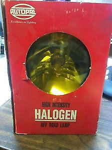 "Autopal 6"" Halogen Off Road Lamp Yellow Lens"