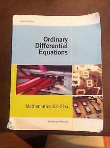 Ordinary Differential Equation (University of Windsor)