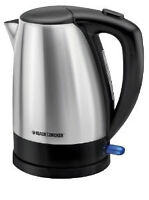 Black and Decker Stainless Steel Kettle
