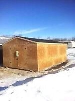 XL Shed / Mini Garage 12' x 20' Calgary