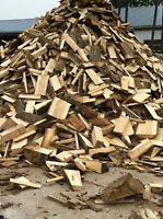 MAPLE FIREWOOD, CUT, SPLIT READY TO BURN $79 A FACE CORD