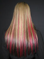 300.00 REMY HAIR EXTENSIONS Micro Bead or Fusion Glue or Clip In