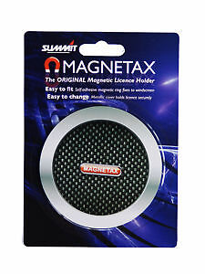 Magnetax Magnetic Car Tax Disc Holder - Carbon Back