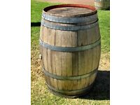 Old wooden cable drum, barrels or steel washing machine drum wanted