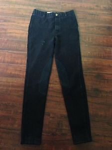 Black Breeches with Knee Patches