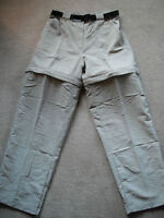NEW mens Zip-off Pants (navy or beige) *size small or medium