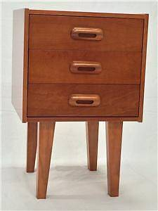 Bedside Table Retro Danish  vintage Eames style Somersby Gosford Area Preview