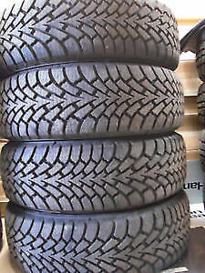 225/65R16 GOODYEAR NORDIK  2 USED TIRES 90% tread left