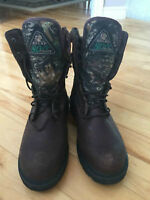 Rocky Camouflage Leather Gore-Tex Size 9 Mens Boots