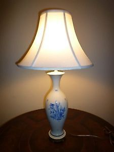 HEREND TABLE LAMP - VINTAGE - Reduced Price